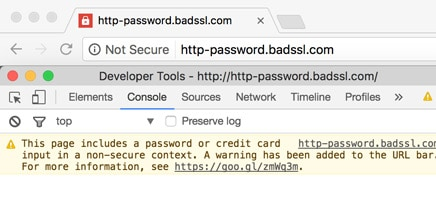 Search Console http version warning | Get https
