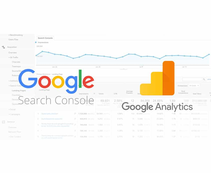 search console and https